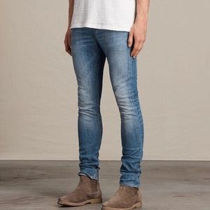 All Saints Etch Cigarette Jeans